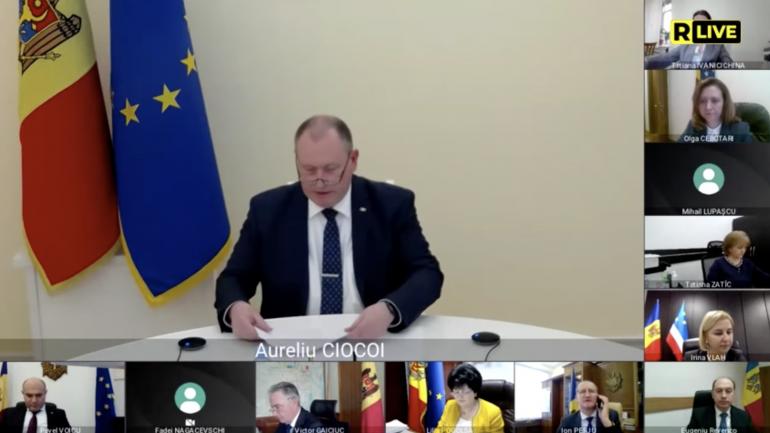 Ședința Cabinetului de miniștri, din 30 martie 2021