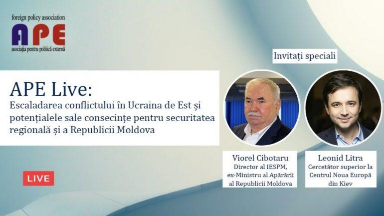 APE Live: Dialoguri de politică externă, integrare europeană și securitate #3