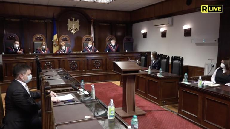 Ședința Curții Constituționale, din 25 martie 2021