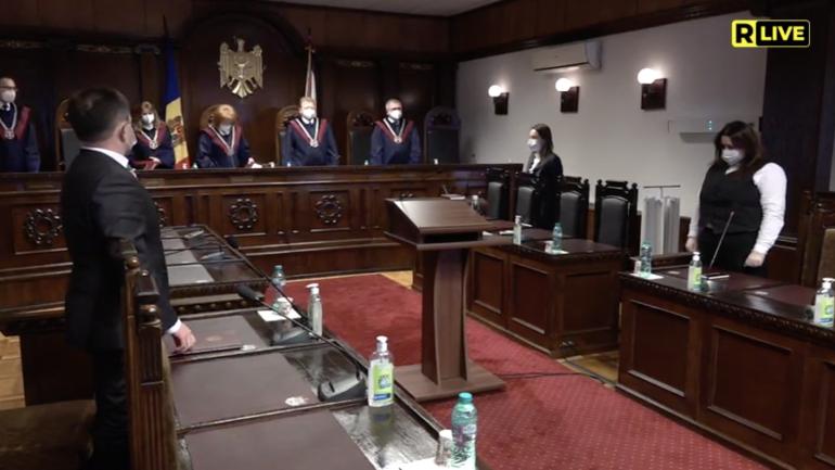 Pronunțarea hotărârii Curții Constituționale privind căutarea și aducerea forțată a debitorului