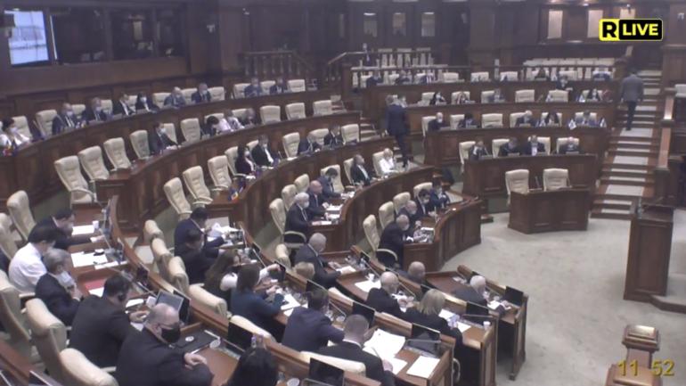 Ședința Parlamentului Republicii Moldova, din 25 martie (Partea a II-a)