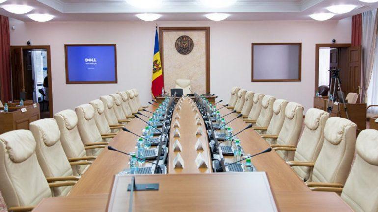 Conferință de presă susținută de prim-ministrul Natalia Gavrilița, ministrul Muncii și Protecției Sociale, Marcel Spatari și deputatul PAS, Dan Perciun