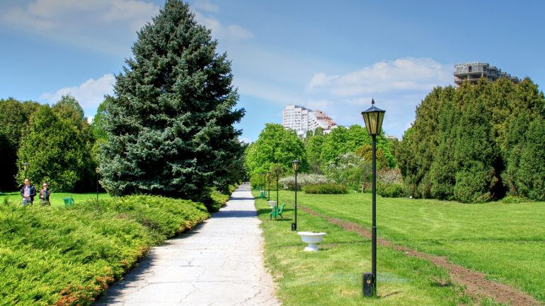 Agenda - Președinții Maia Sandu și Gitanas Nauseda plantează arbori la Grădina Botanică din Chișinău