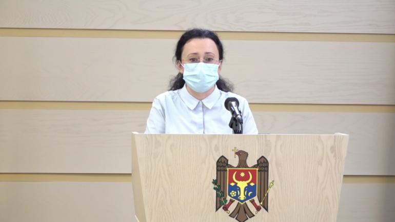 Inga Grigoriu susține conferința de presă: Comisia Laundromat – elemente cheie în procesul modificării legislației