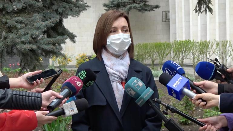 Agenda - Declarațiile președintelui Maia Sandu, după ce a primit vaccinul anti-COVID