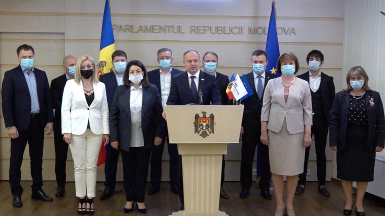"""Agenda - Grupul parlamentar """"PRO MOLDOVA"""" susține o conferință de presă"""