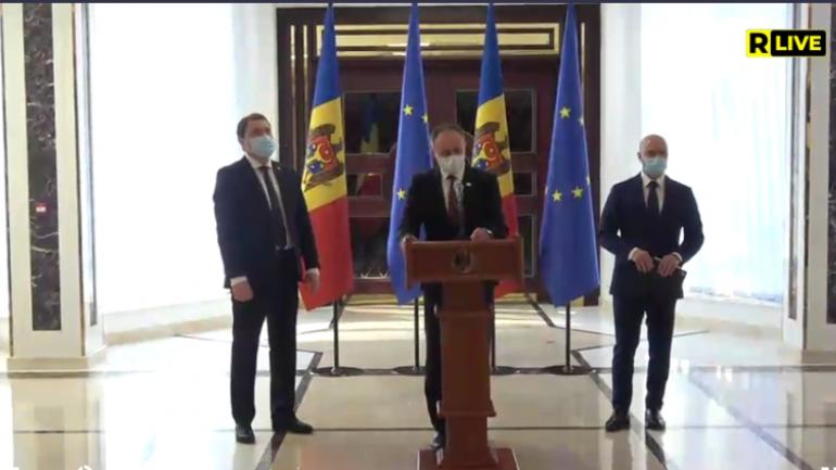 """""""Pro Moldova"""" la consultări cu președinta Maia Sandu"""