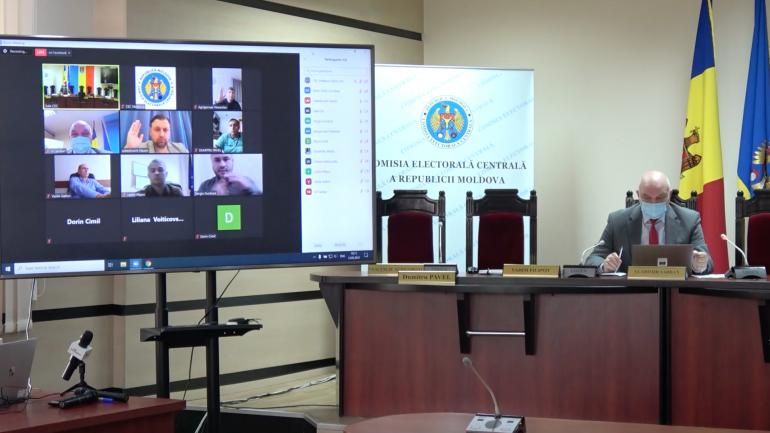 Agenda - Ședința Comisiei Electorale Centrale, din 12 mai 2021