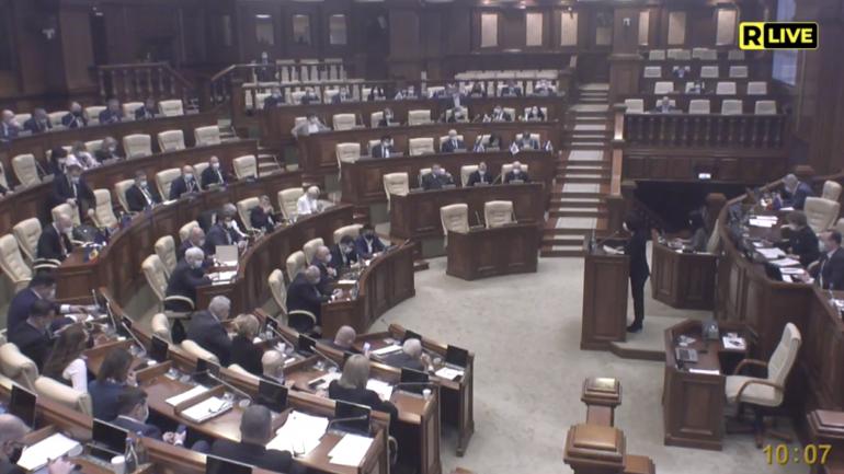 Ședința Parlamentului Republicii Moldova, din 25 martie 2021