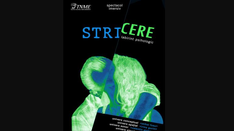 """Teatrul Național """"Mihai Eminescu"""" prezintă spectacolul imersiv: Stricere, labirint psihologic"""