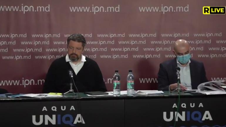 Fondatorul Accent Group, Vladimir Russu susține conferința de presă: Un nou atac raider. Judecătoria Ciocana transmite proprietățile omului de afaceri Vladimir Russu în folosința lui Veaceslav Platon sau a companiilor lui