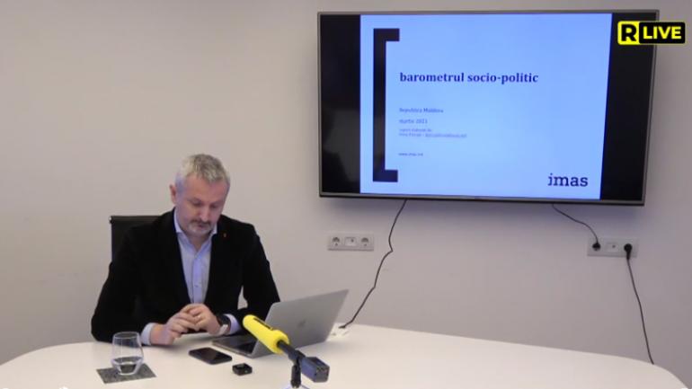 Barometrul IMAS privind rezultatele sondajului socio-politic, împreună cu analiza evoluțiilor din perioada 2019-2021
