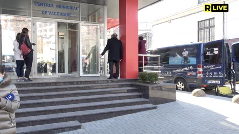 Primăria municipiului Chișinău inaugurează primul centru de vaccinare