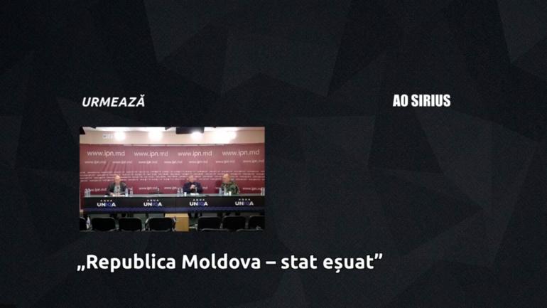 """Conferința de presă susținută de Asociația Obștească Centrul de Protecție a Drepturilor Fundamentale """"SIRIUS"""""""