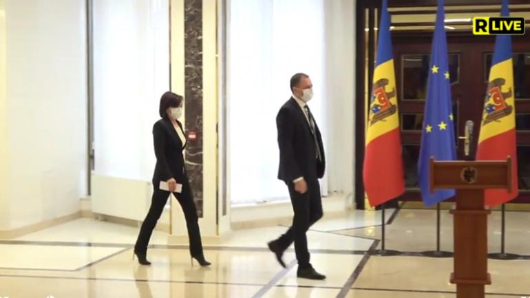 Consultările președintei Maia Sandu cu Partidul ȘOR