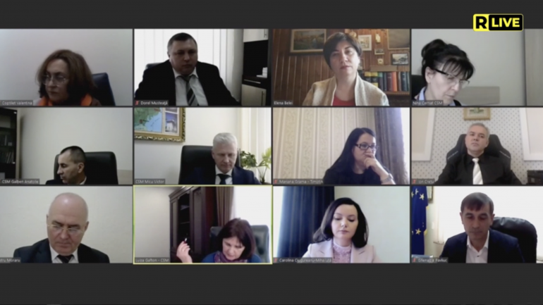 Ședința Consiliului Superior al Magistraturii, din 30 martie 2021