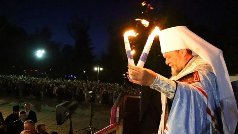 Lumina Sfântă de la Ierusalim ajunge în Republica Moldova