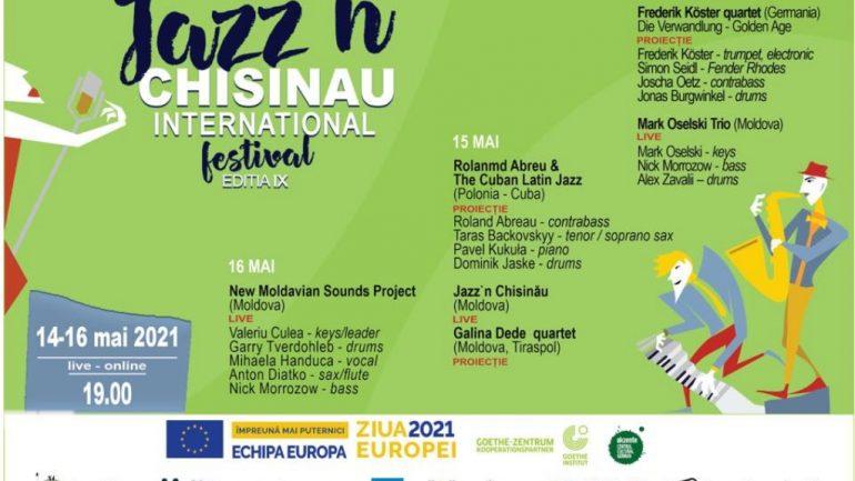 Agenda - Jazz'n Chișinău Internațional Festival, ediția lX (Ziua I)
