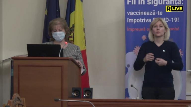 Ministerul Sănătății, Muncii și Protecției Sociale susține conferința privind situația epidemiologică în contextul COVID-19