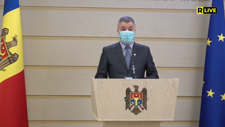 Deputatul Octavian Țîcu susține un briefing de presă: Declarația privind sesizarea CC cu privire la neconstituționalitatea Partidului ȘOR
