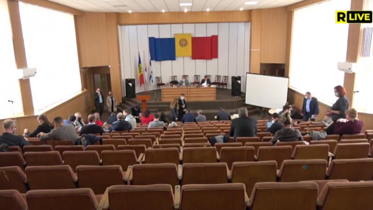 Continuarea ședinței extraordinară a Consiliului Municipal