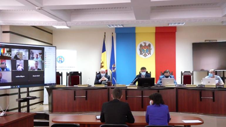 Ședința Comisiei Electorale Centrale, din 4 iunie 2021