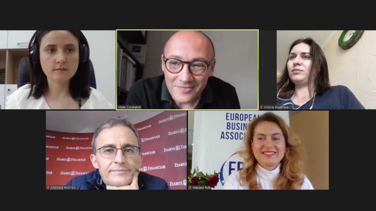 EBA Moldova lansează Academia de Jurnalism Economic 2.0 cu Cristian Hostiuc, director editorial Ziarul Financiar, România