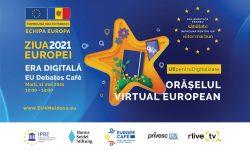 """EU Debates Cafe: """"Noua eră digitală și inovațiile: Sprijinul UE pentru Educație, Afaceri și E-Servicii"""""""