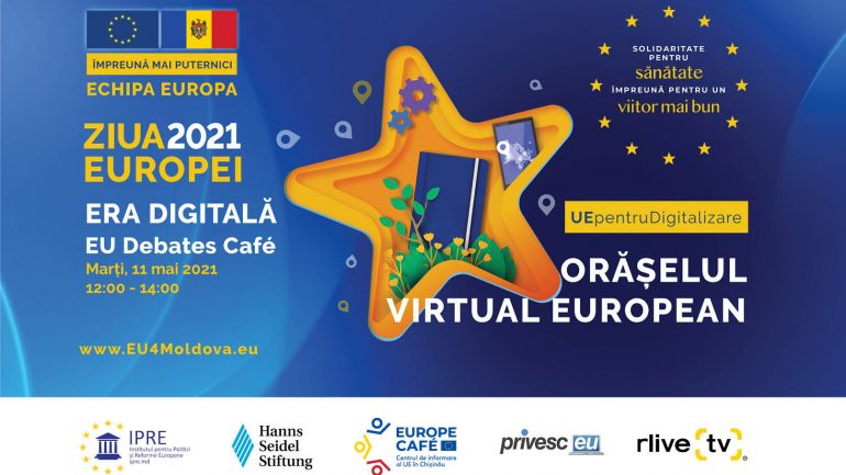 """Agenda - EU Debates Cafe: """"Noua eră digitală și inovațiile: Sprijinul UE pentru Educație, Afaceri și E-Servicii"""""""