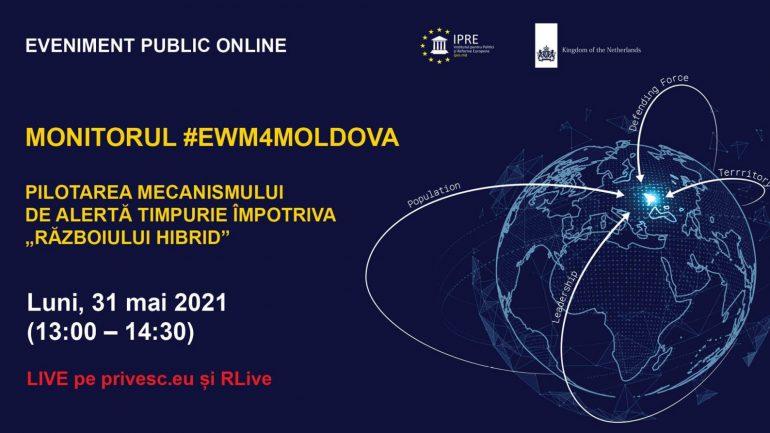 Evenimentul public de prezentare a Monitorului #EWM4Moldova