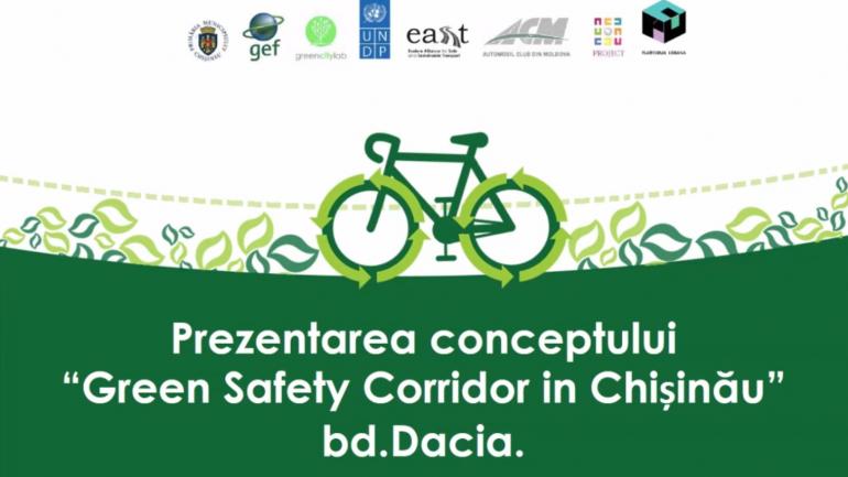 "Prezentarea publică a conceptului de proiect ""Green Safety Corridor in Chisinau"" (bd. Dacia, tronsonul str. Hristo Botev – bd. Traian)"