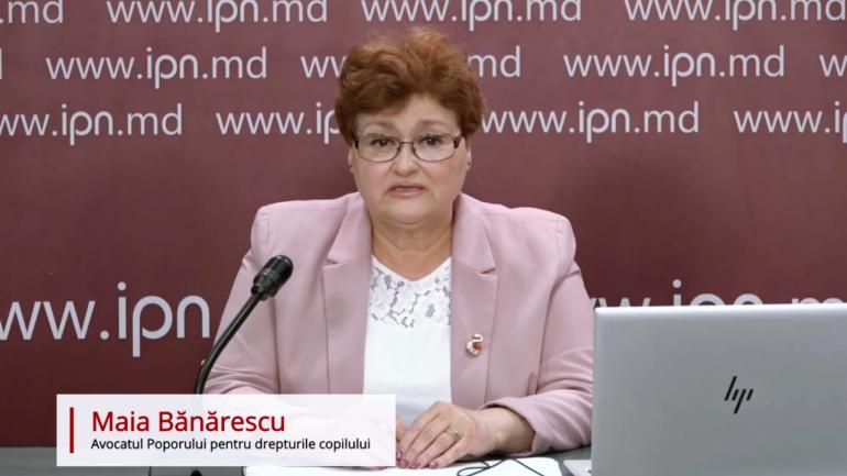 """Avocatul Poporului pentru drepturile copilului, Maia Bănărescu prezintă raportul tematic """"Utilizarea imaginii copiilor în campaniile electorale"""""""