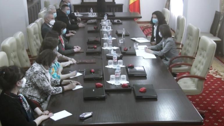 Președintele Maia Sandu participă la ședința Consiliului Superior al Magistraturii