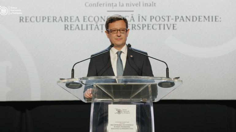 """Banca Națională a Moldovei organizează conferința """"Recuperarea economiei în post-pandemie: realități și perspective"""""""