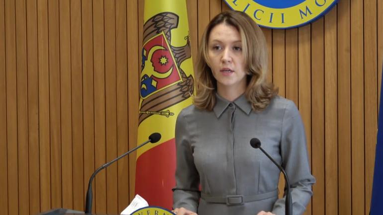 Briefing de presă susținut de Viceprim-ministrul în exercițiu pentru reintegrare, Olga Cebotari