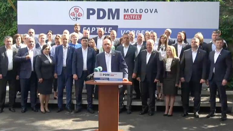 Partidul Democrat din Moldova se lansează oficial în campania pentru alegerile parlamentare anticipate