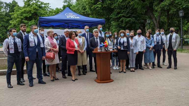 """Partidul Democrat din Moldova lansează campania de colectare de semnături în susținerea Planului de țară """"MOLDOVA ALTFEL"""""""