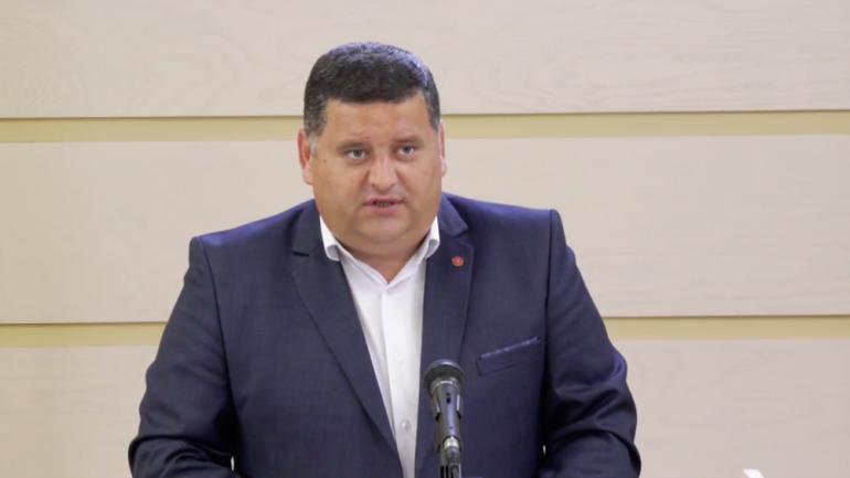 Briefing de presă susținut de fracțiunea PSRM, la Parlament
