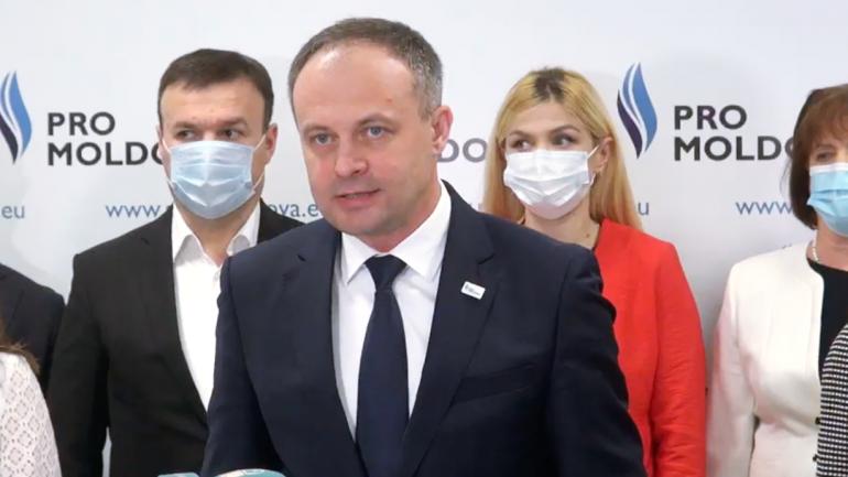 """Partidul """"PRO MOLDOVA"""" susține o conferință de presă"""