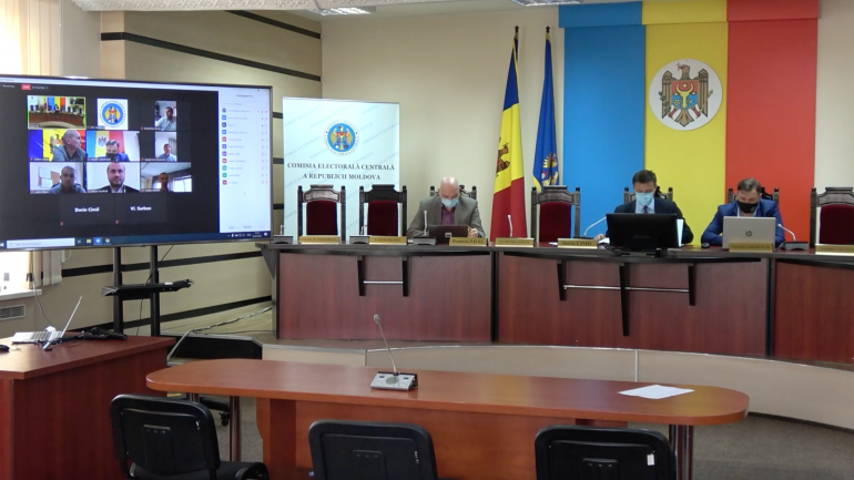 Ședința Comisiei Electorale Centrale, din 5 mai 2021