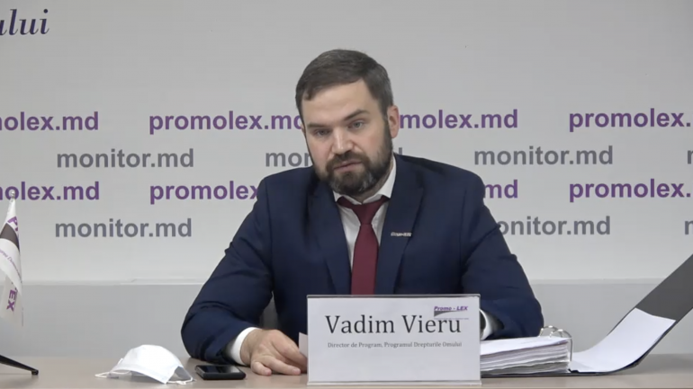 """Conferința de presă """"Moldova și Rusia, în vizorul CtEDO pe cauza interdicției accesului în regiunea transnistreană a juriștilor Promo-LEX"""""""