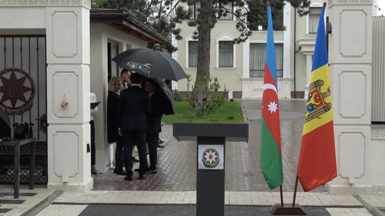 """Eveniment oficial cu ocazia Zilei Naționale a Republicii Azerbaidjan """"Ziua Republicii"""""""