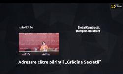 """Conferință de presă cu genericul: """"Adresare către părinții """"Grădina Secretă"""""""