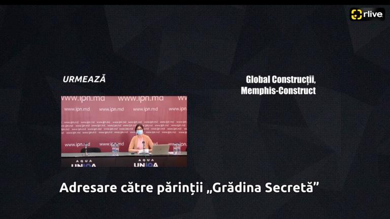 """Agenda - Conferință de presă cu genericul: """"Adresare către părinții """"Grădina Secretă"""""""