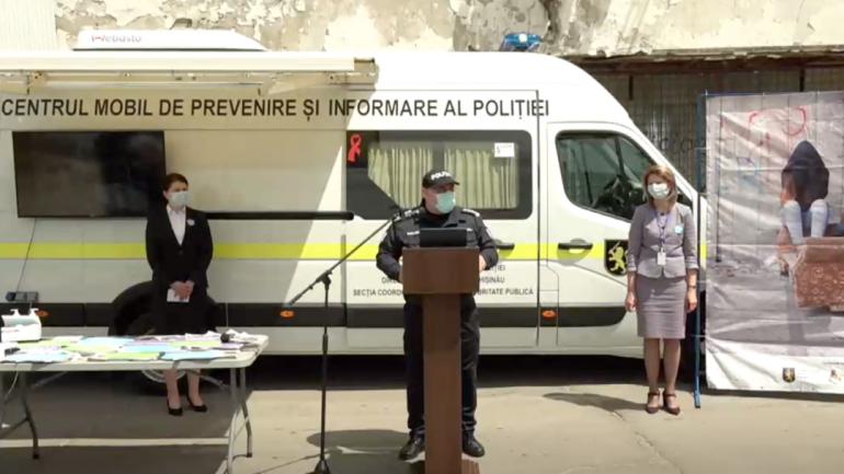 Inspectoratul General al Poliției susține conferința de presă în contextul marcării Zilei Internaționale a Copiilor Dispăruți