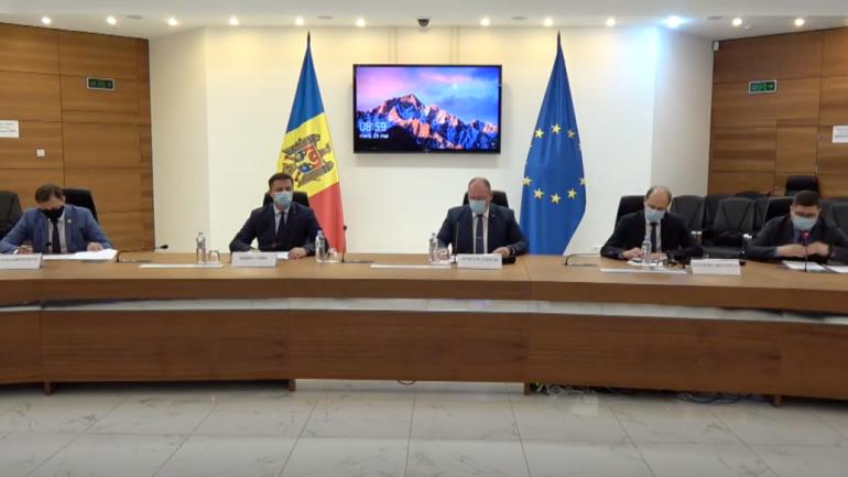 """Conferința de presă comună a MAEIE și CEC pe subiectul """"Alegerile parlamentare anticipate – procesul organizatoric privind votul în străinătate"""""""