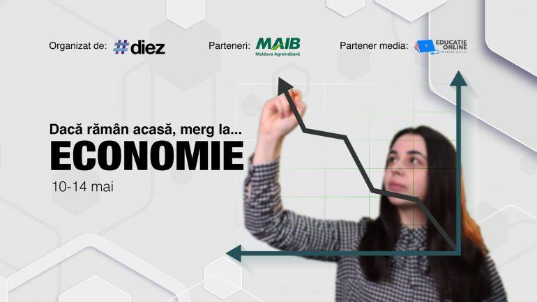 """Agenda - """"Dacă rămân acasă, merg la Științe Economice"""", eveniment online de orientare în carieră organizat de #diez"""