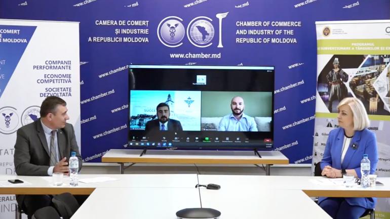 """CCI și ODIMM inaugurează Expoziția Virtuală """"SMExpo 2021"""""""