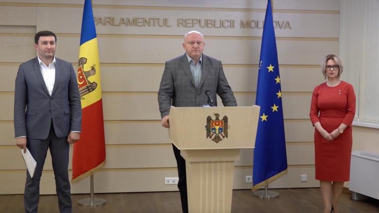 Agenda - Fracțiunea parlamentară PSRM susține un briefing de presă