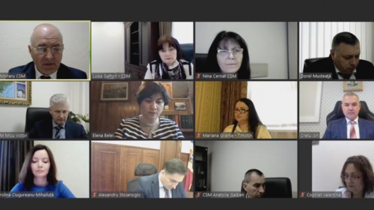 Ședința Plenului Consiliului Superior al Magistraturii, din 1 iunie 2021